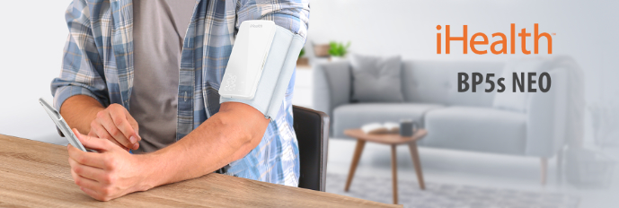 iHealth VIEW BP5s – chytrý pažní tlakoměr, automatické měření krevního tlaku bez hadiček