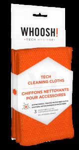 WHOOSH! 3XL professional antibacterial microfibre cloth - 3pcs