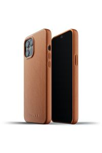 MUJJO Full Leather Case for iPhone 12 Pro Max, Tan