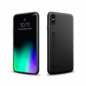 HITCASE CRIO protective packaging for iPhone X - Black