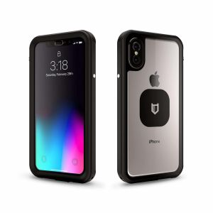 HITCASE Shield LINK protective packaging for iPhone X - Black