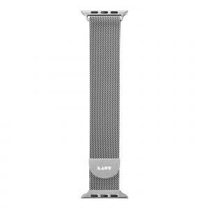 LAUT Steel Loop – strap for Apple Watch 38/40 mm, Milanese loop, Silver