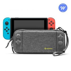 tomtoc Nintendo Switch Slim Case, Gray