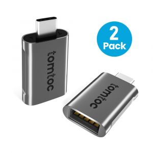 tomtoc – USB-C to USB 3.0 Adapter, 2 pack