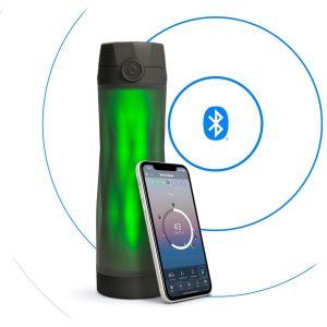 HidrateSpark 3 – smart bottle with Bluetooth tracker, 592 ml, black