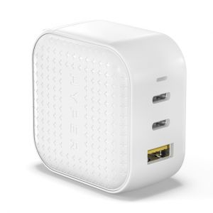 HyperJuice 65W GaN charger, white