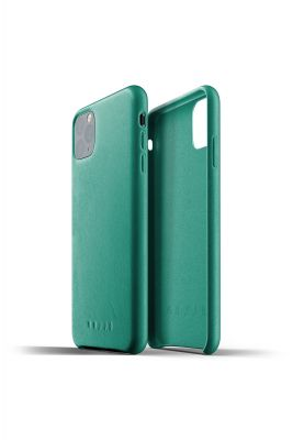 MUJJO Full Leather Case for iPhone 11 Pro Max – Alpine Green