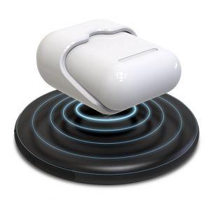 Hyper Juice Wireless Charger - adaptér pro bezdrátové nabíjení Apple AirPods – na nabíječce