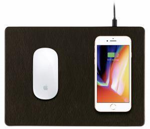 MiniBatt PowerPAD - Qi wireless charging mouse pad – Black