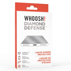 WHOOSH! Diamond defense liquid screen protector