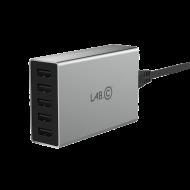 Lab.C X5 5Port USB Wall Charger - Grey