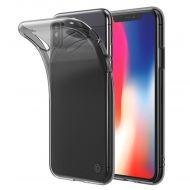 LAB.C Slim Soft Case for iPhone X, Smokey Black