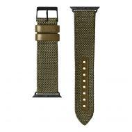 LAUT Technical 2.0 – nylonový řemínek na Apple Watch 42/44 mm, olivový
