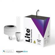 Lite bulb moments, bactericidal UV-C bulb, E27, white