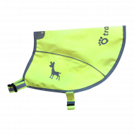 Tractive Neon Reflective Vest with Pocket for GPS, size S