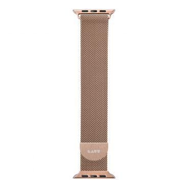 LAUT Steel Loop – strap for Apple Watch 38/40 mm, Milanese loop, Gold
