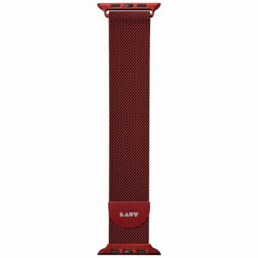 LAUT Steel LOOP strap for Apple Watch 42/44 mm - red