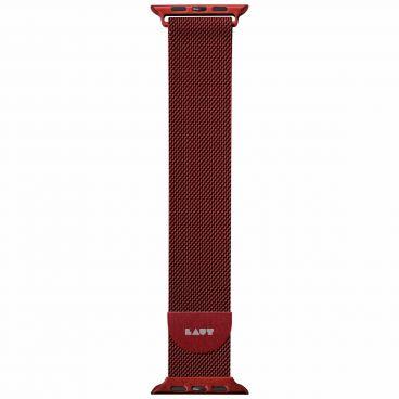 LAUT Steel LOOP strap for Apple Watch 38/40 mm - red